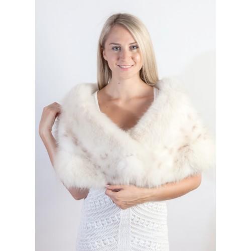 Accessori in vera pelliccia per spose e matrimoni d for Kunstleder fur stuhle